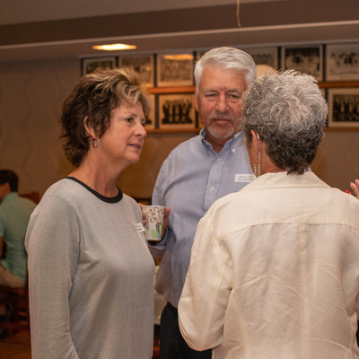 Sandy & Tom Canfield and Marsha Weaver